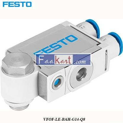 Picture of VFOF-LE-BAH-G14-Q8  Festo VFOF Series Flow Controller
