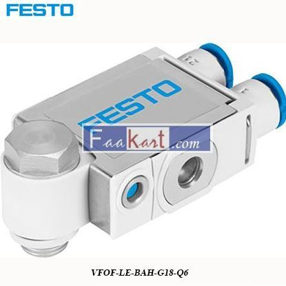Picture of VFOF-LE-BAH-G18-Q6  Festo VFOF Series Flow Controller