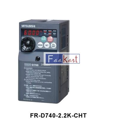 Picture of FR-D740-2.2K-CHT - Mitsubishi Inverter Drive 3-Phase