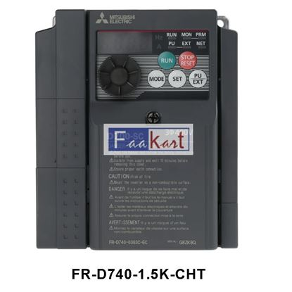 Picture of FR-D740-1.5K-CHT - Mitsubishi Inverter Drive 3-Phase