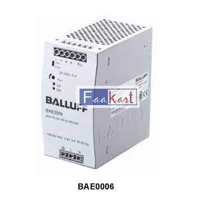 Picture of BAE0006-BALLUFF-Power supply